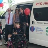 Red Hill Special School gets its mini-bus